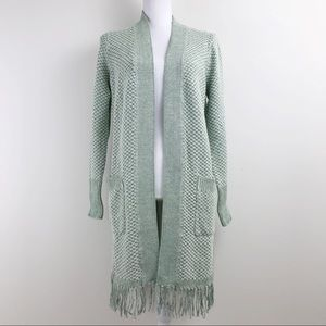 Isaac Mizrahi Cardigan Sweater Green New Small S